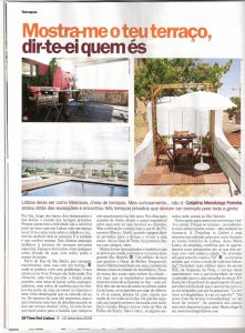Time Out Lisboa 102 Edition - Best Terraces in Lisbon - Full Article